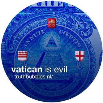vatican is evil | truthbubbles